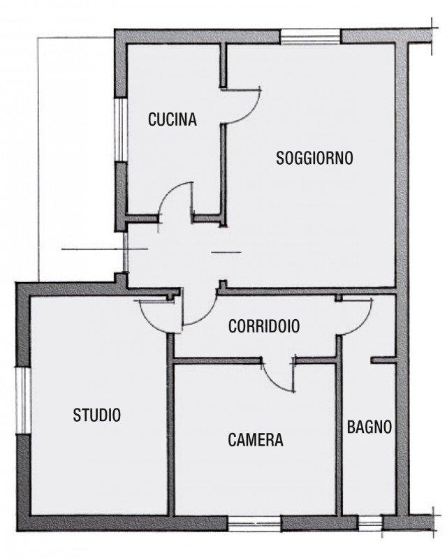 Secondo bagno a uso esclusivo della camera cose di casa - Creare planimetria casa ...