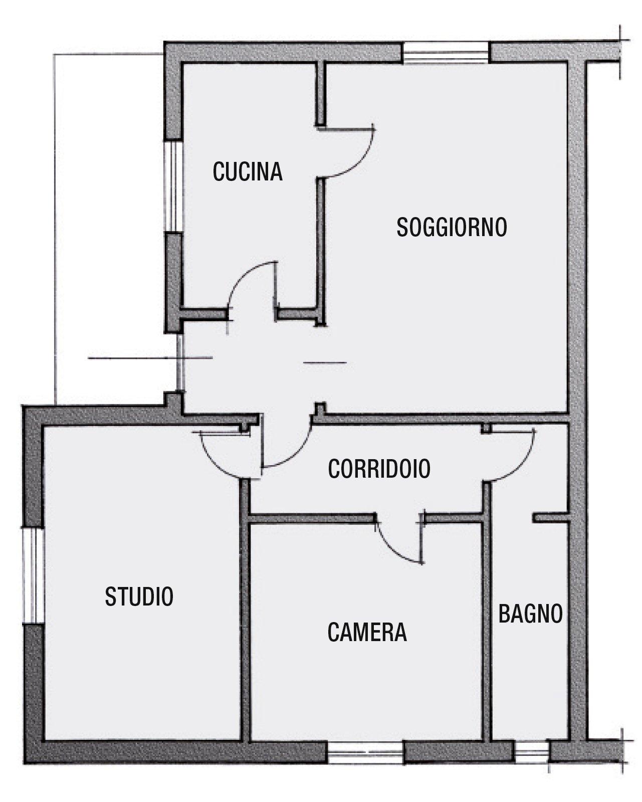Secondo bagno a uso esclusivo della camera cose di casa - Disegnare piantina casa ...
