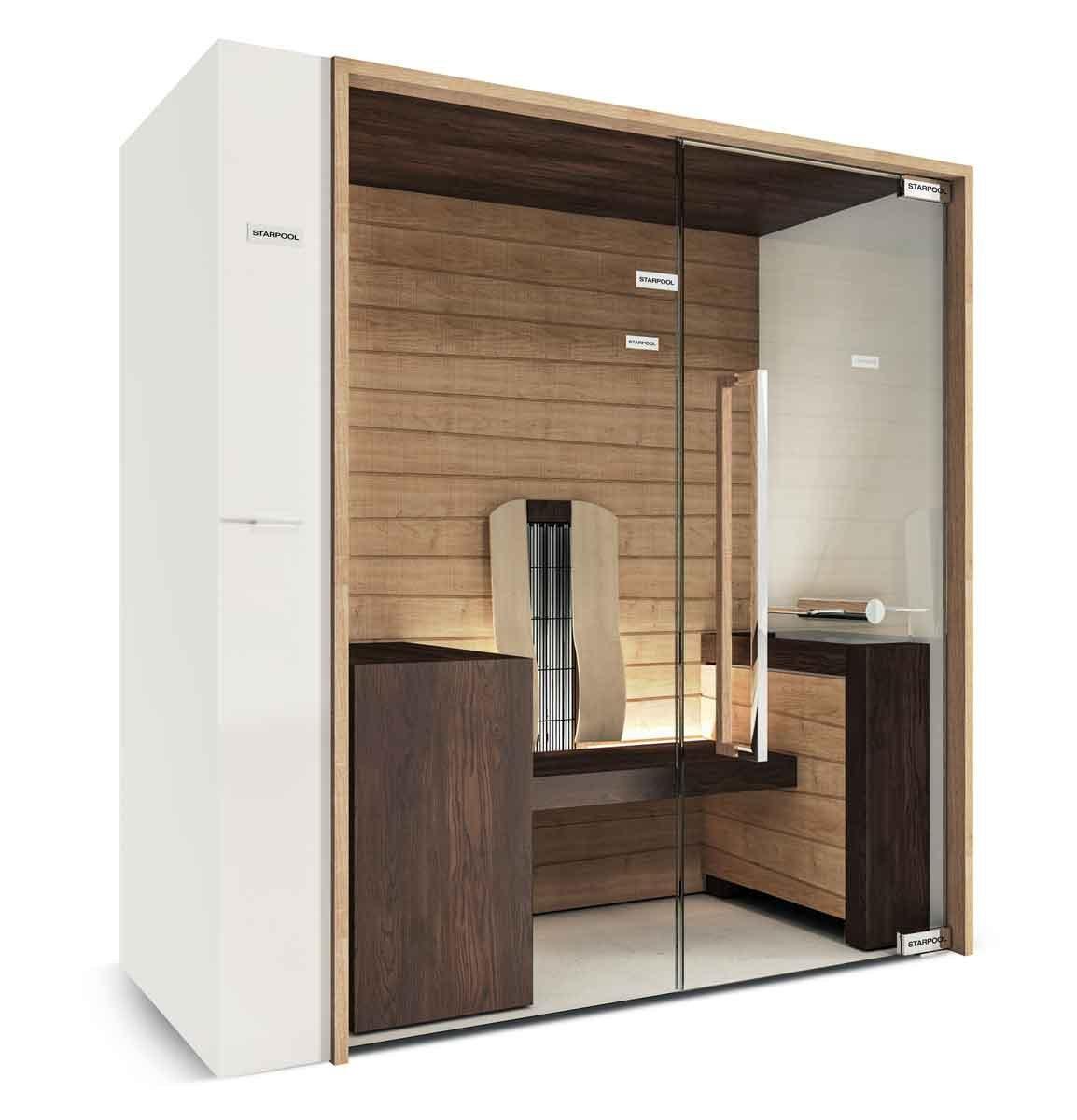 La sauna anche a casa cose di casa for Costruire una sauna in casa