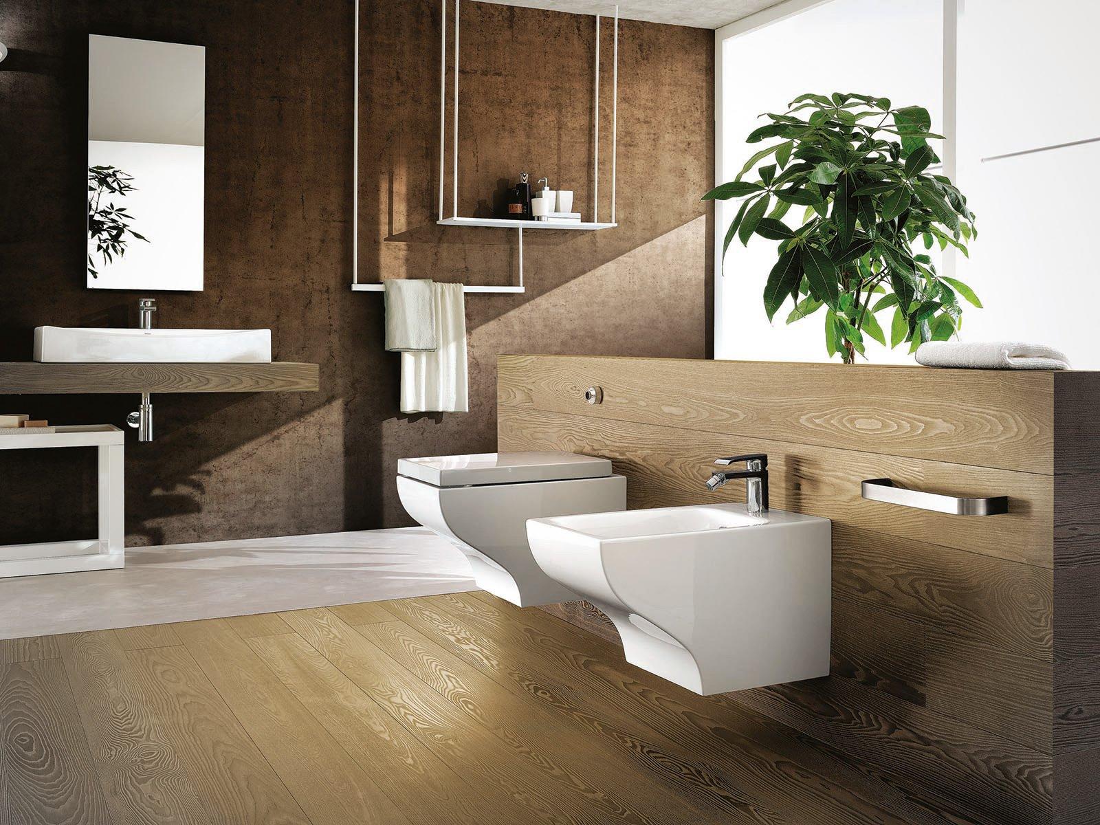 Sanitari sospesi per un bagno contemporaneo cose di casa - Bagno contemporaneo ...