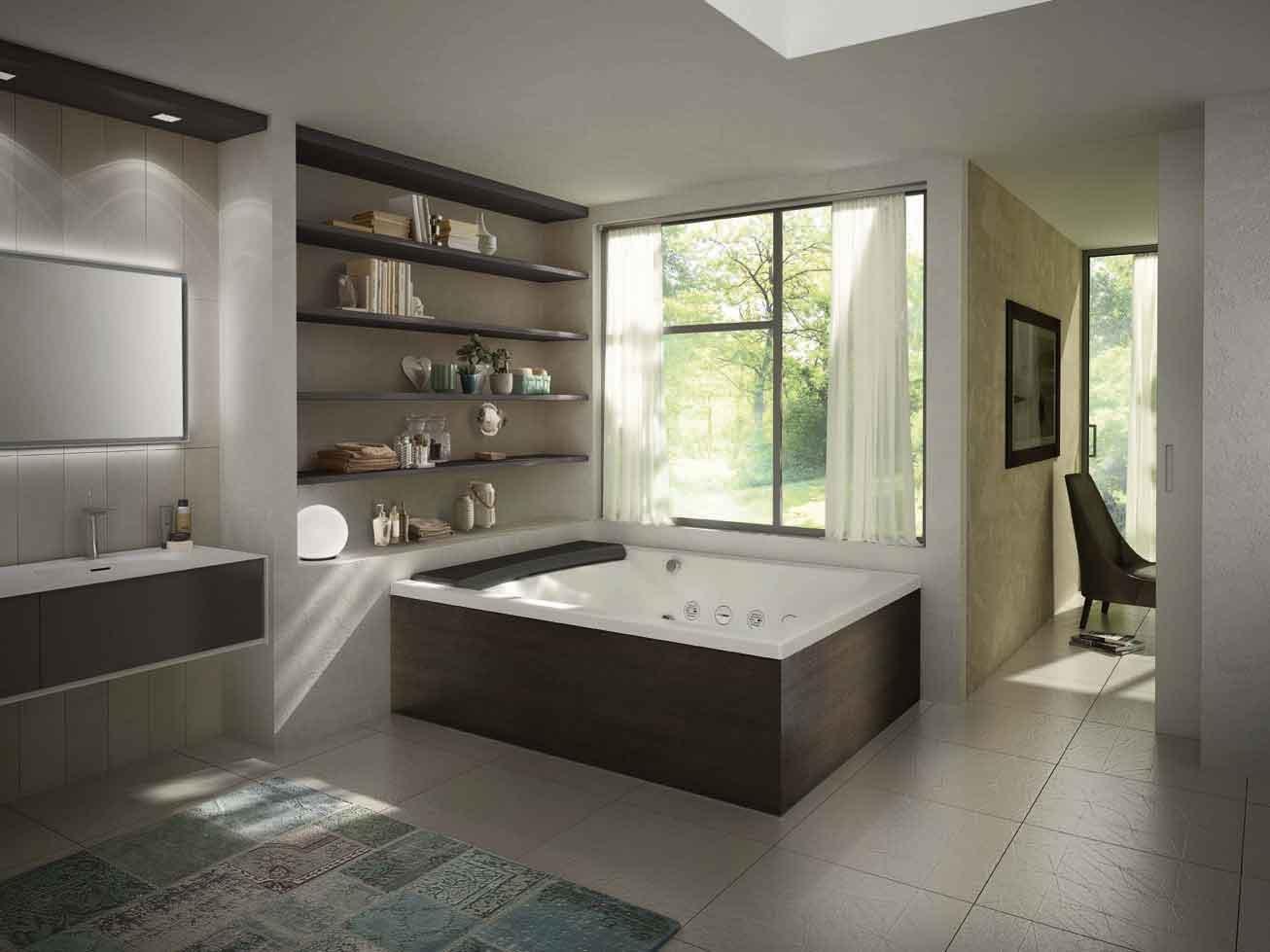 Vasche per ogni esigenza di spazio cose di casa - Vasca da bagno incasso prezzi ...