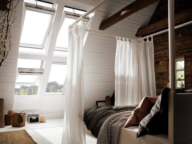 Sottotetto con finestra per tetti Velux Integra - www.velux.it