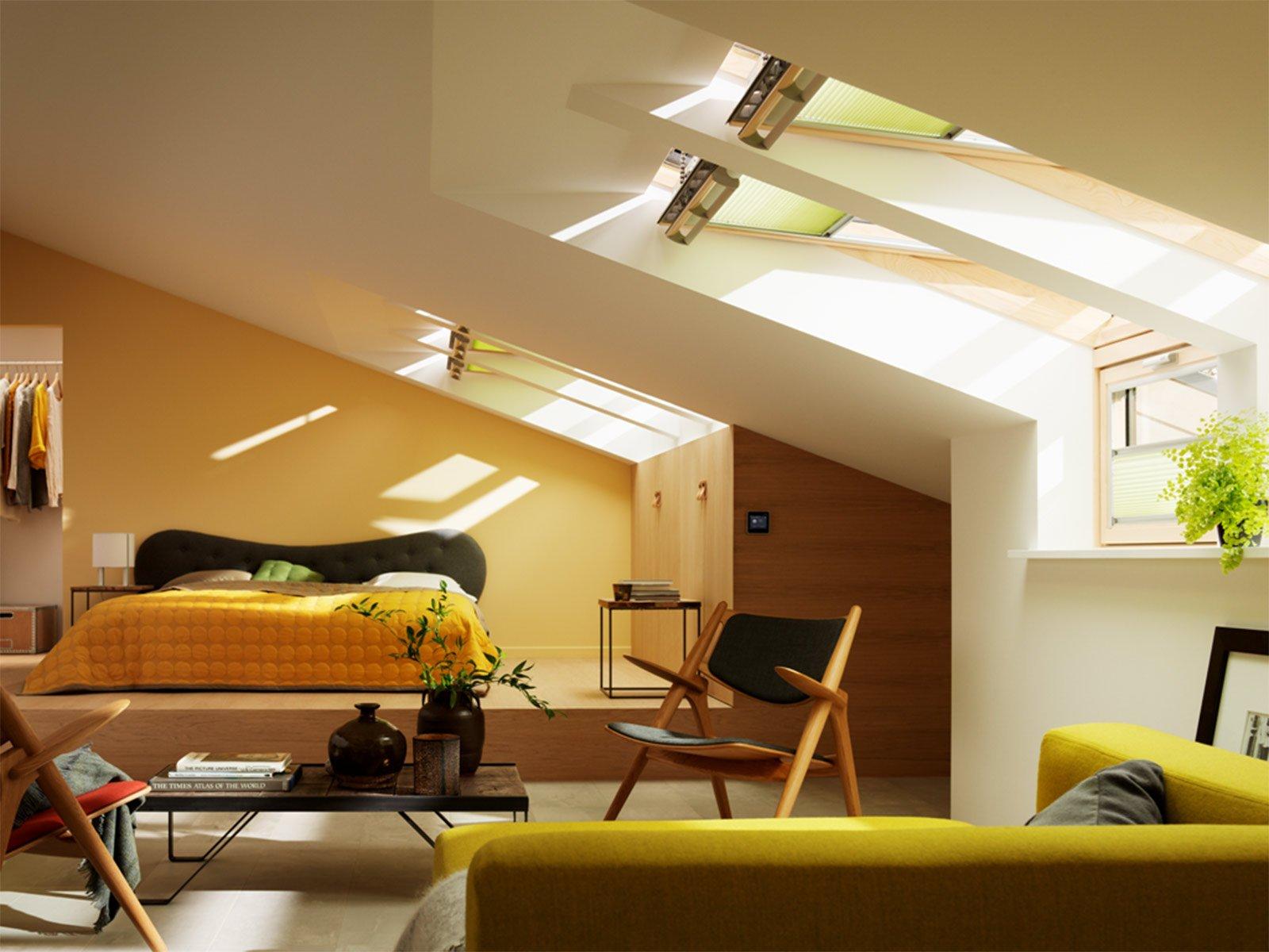 Illuminazione Soffitto In Legno: Una casa a contatto con la natura ...