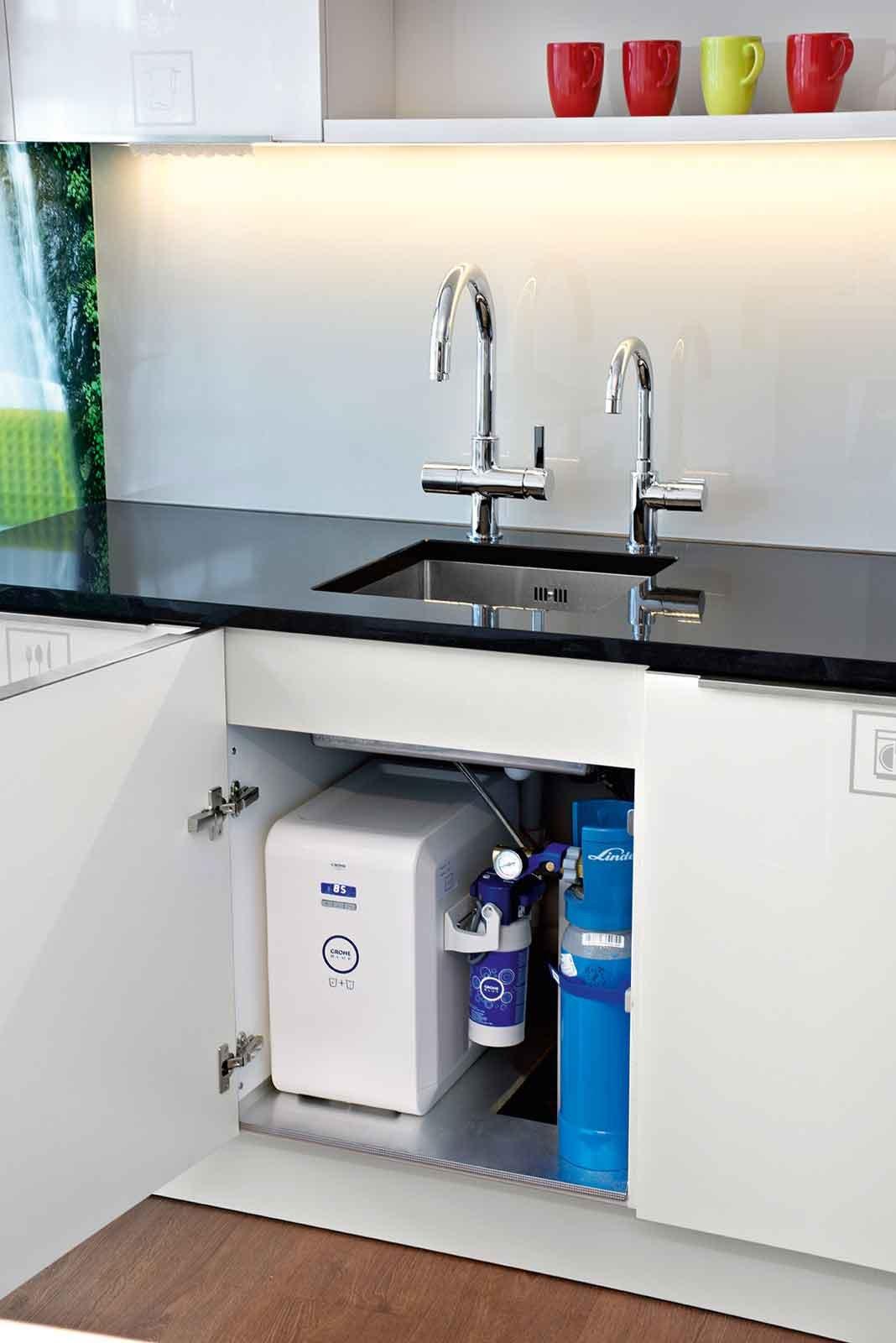 Acqua frizzante a casa dal rubinetto – Semplice e comfort in una casa di famiglia