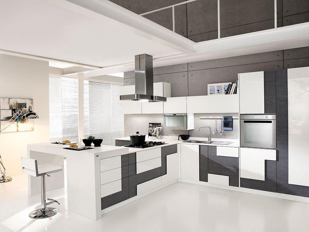 Cucine open space con penisola cose di casa - Cucine moderne con isola lube ...
