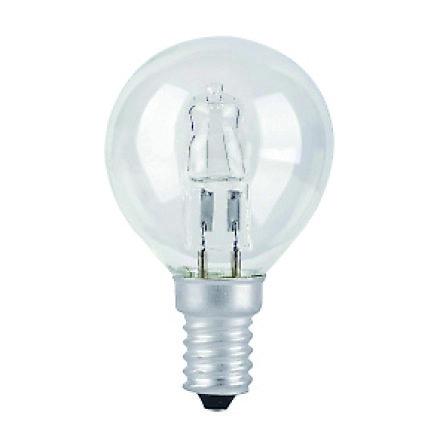 È dimmerabile l'alogena a sfera con attacco E14. La lampadina di Lexman-Leroy Merlin è a 18 watt. www.leroymerlin.com