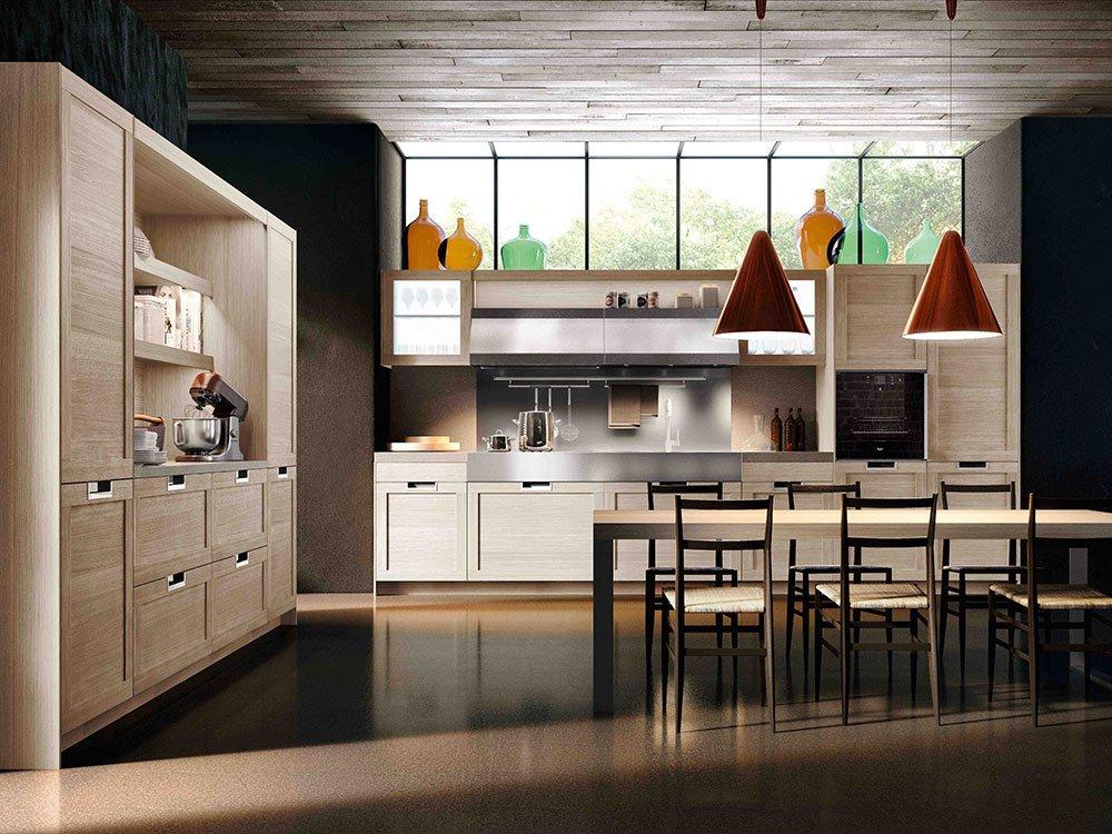 Cucine classiche in legno tradizione senza tempo cose - Cucine di legno ...