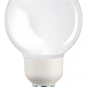 Da 20 W, con luce bianco caldo la lampadina a risparmio energetico ha attacco E27. Softone Globo di Philips dura 10 anni. www.philips.it