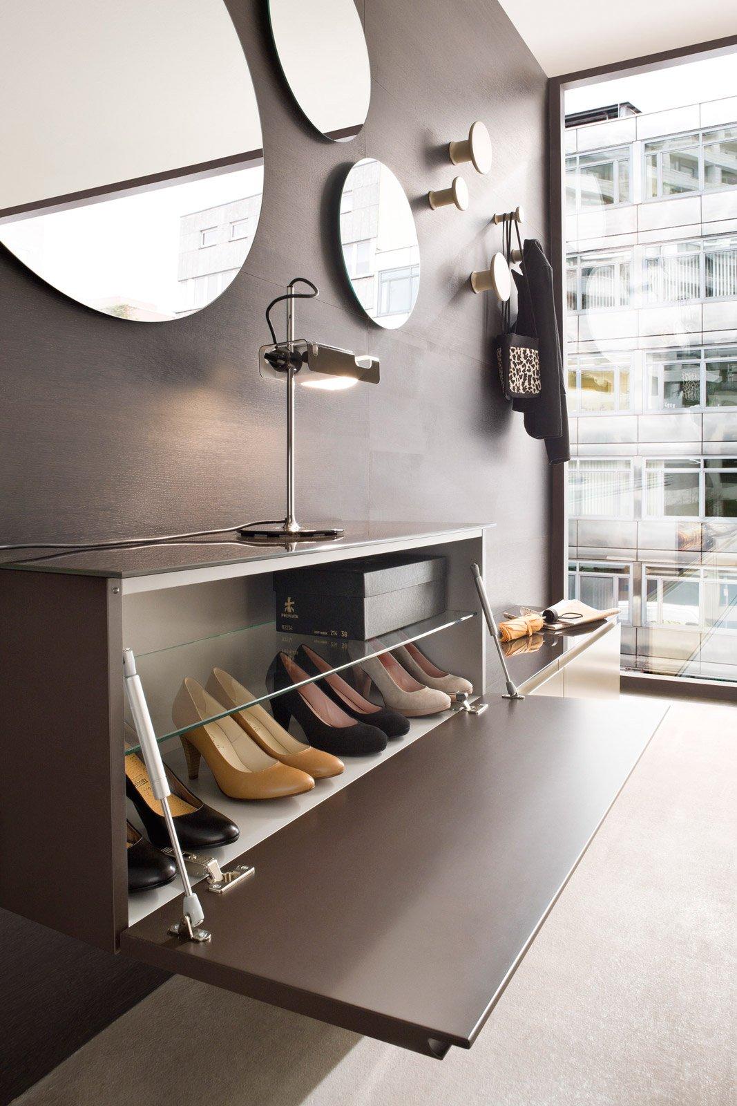 Scarpiere slim modulari e salvaspazio cose di casa for Arredo ingresso design