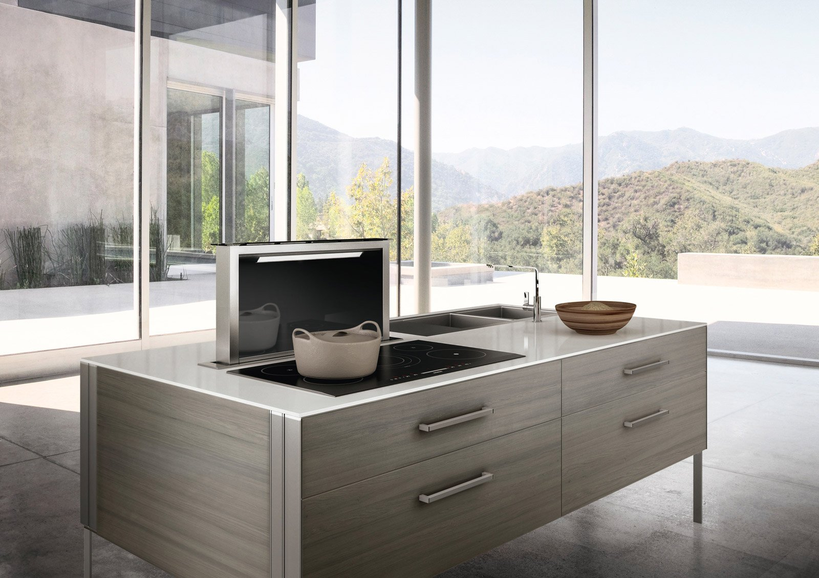 Come scegliere la cappa della cucina cose di casa - Cucina senza fornelli ...