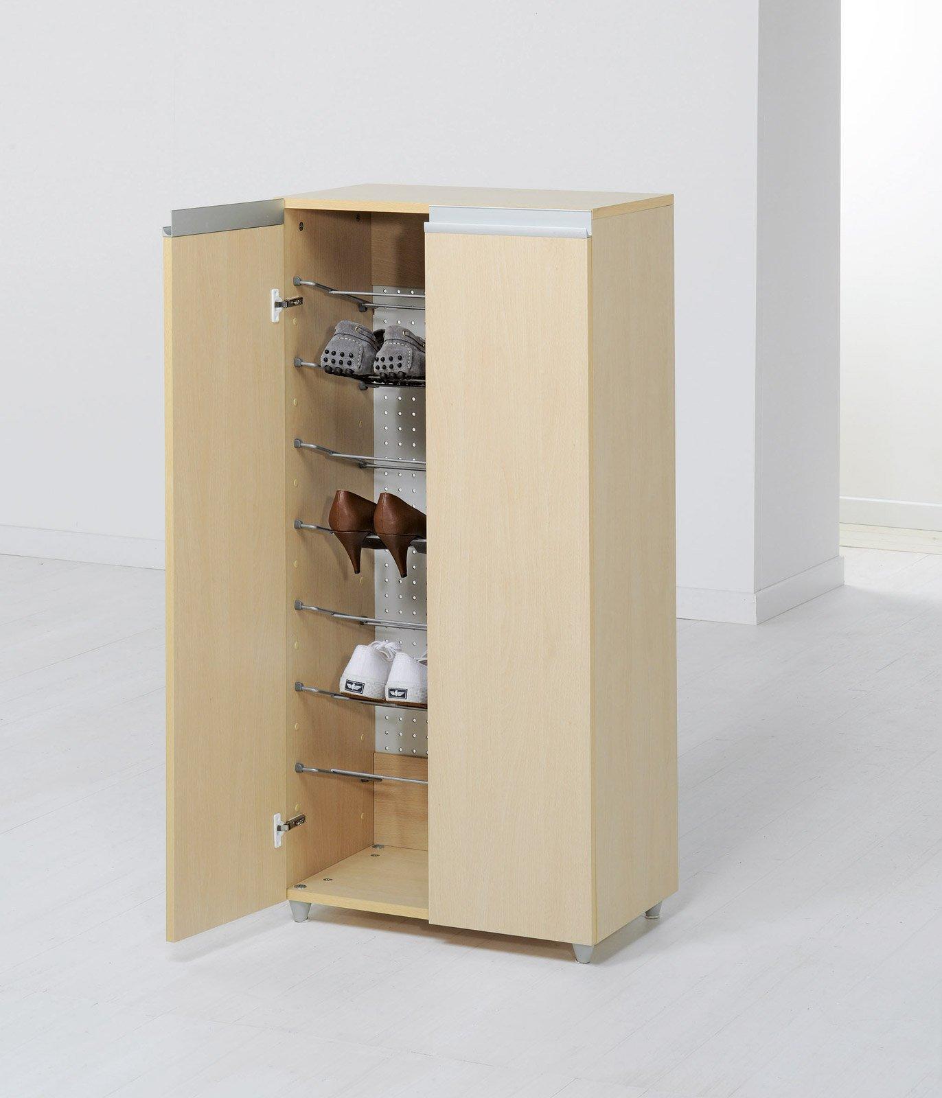 Scarpiere slim modulari e salvaspazio cose di casa - Mobile scarpiera ikea ...