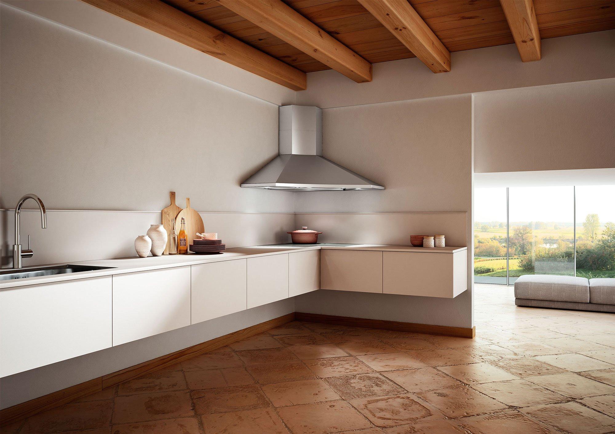 Angoli risolti in cucina cose di casa - Composizione cucina ad angolo ...