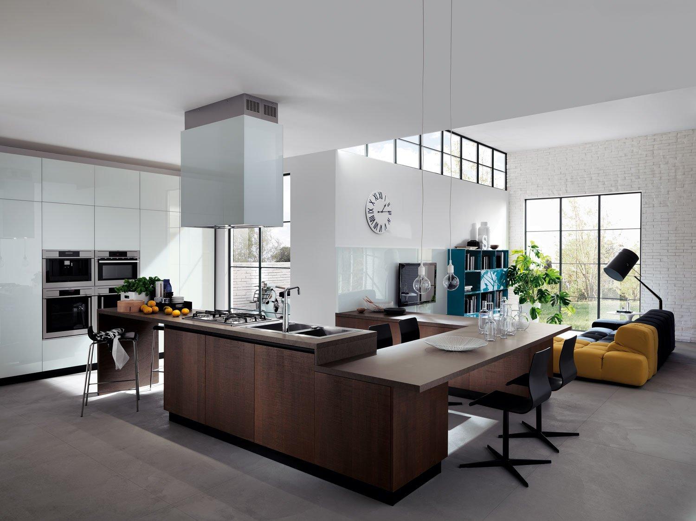 Cucina e soggiorno un unico ambiente cose di casa for Foto di cucina e soggiorno a pianta aperta