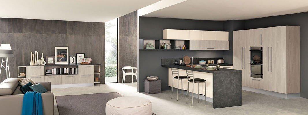 penisola in cucina piccola : Cucine open space con penisola - Cose di Casa
