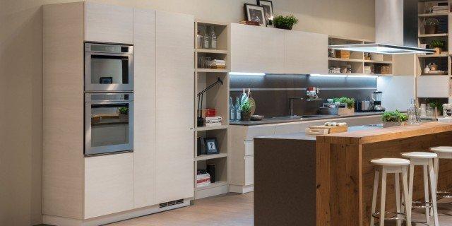 Cucina e soggiorno: un unico ambiente