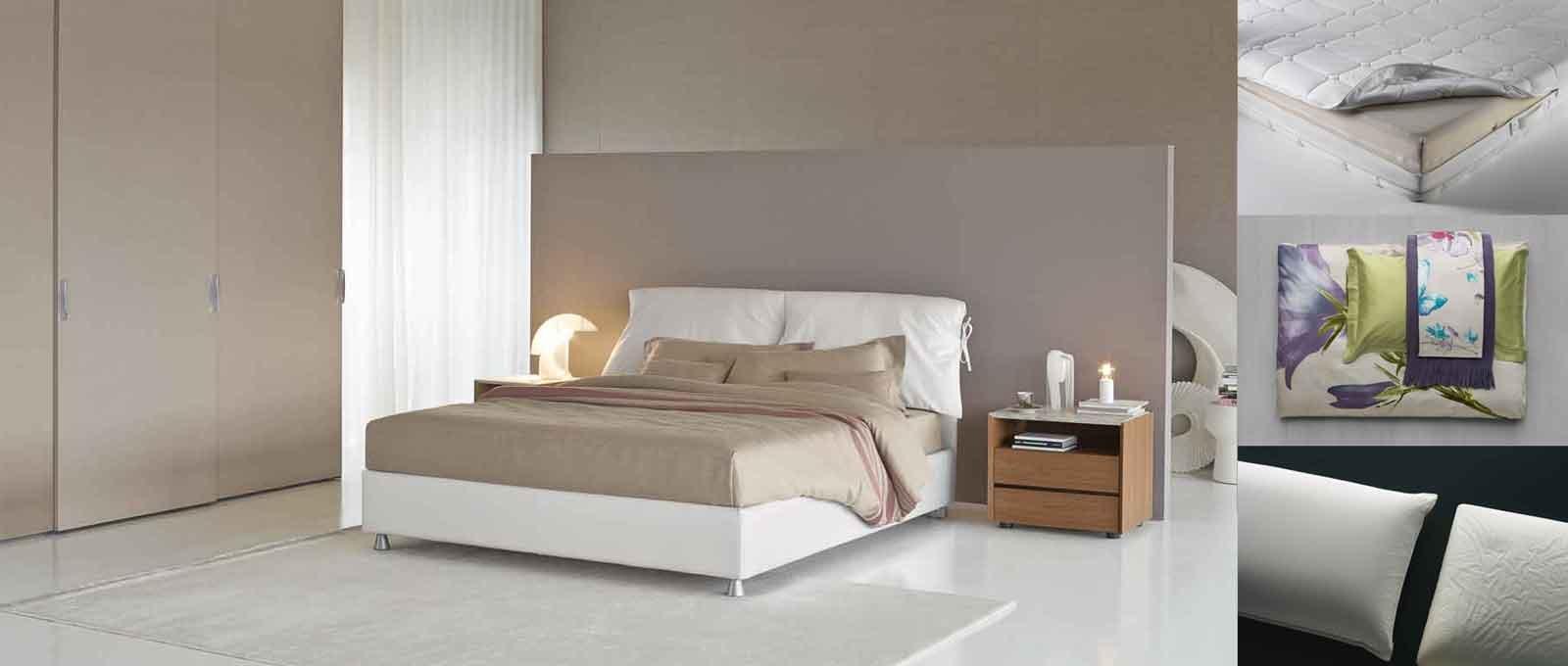 Dormire bene letto materasso e biancheria cose di casa for Letto con testata reclinabile