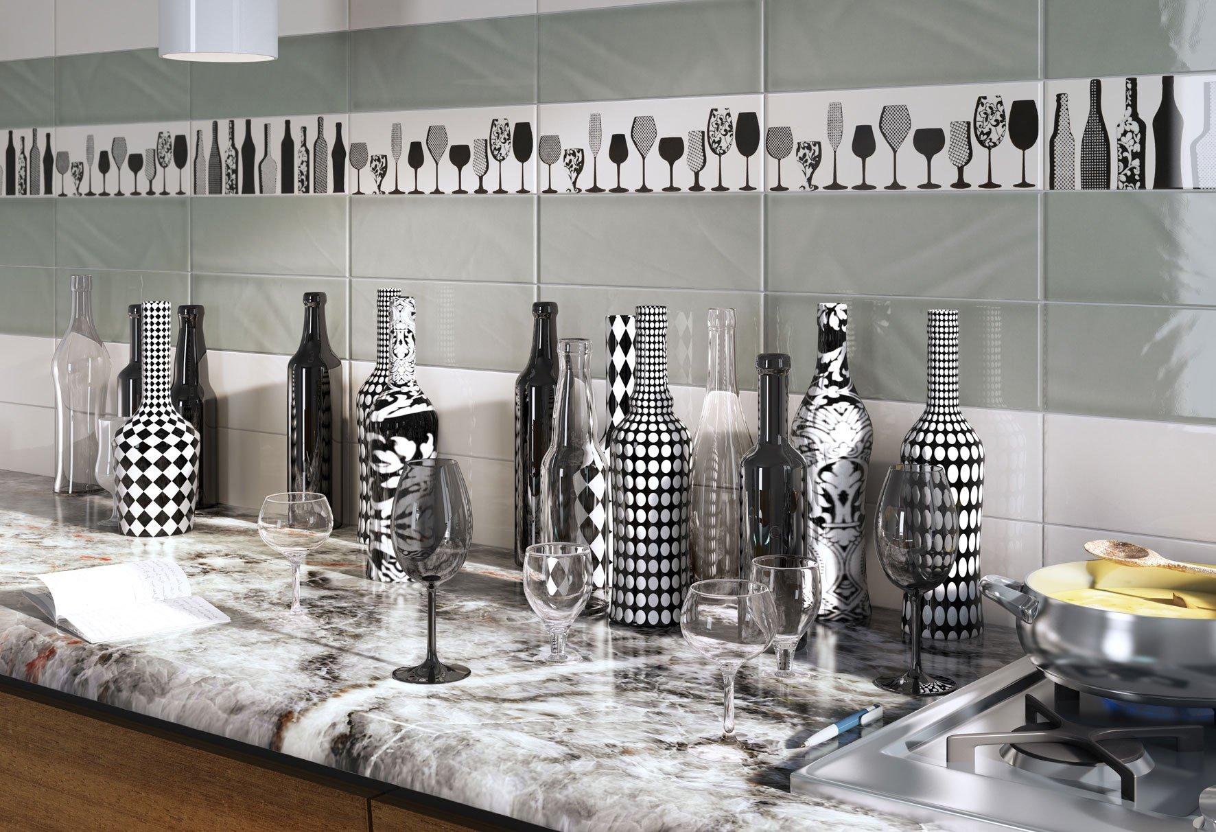 scegliere le piastrelle per le pareti della cucina - cose di casa - Mattonelle X Cucina