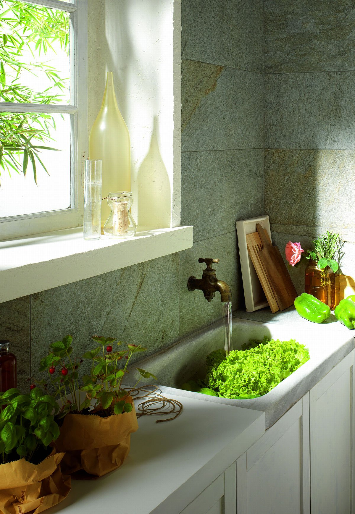 Casabook immobiliare scegliere le piastrelle per le pareti della cucina for Piastrelle cucina marazzi