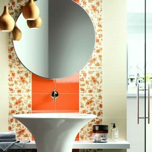 Pareti décor in bagno - Cose di Casa