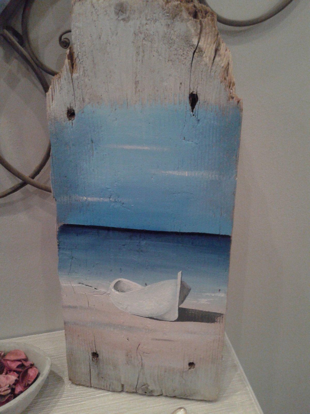 Con legno di recupero quadretti fai da te per ricordare for Arte fai da te casa
