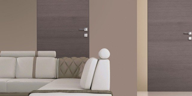 Porte a filo muro: design essenziale o finitura décor