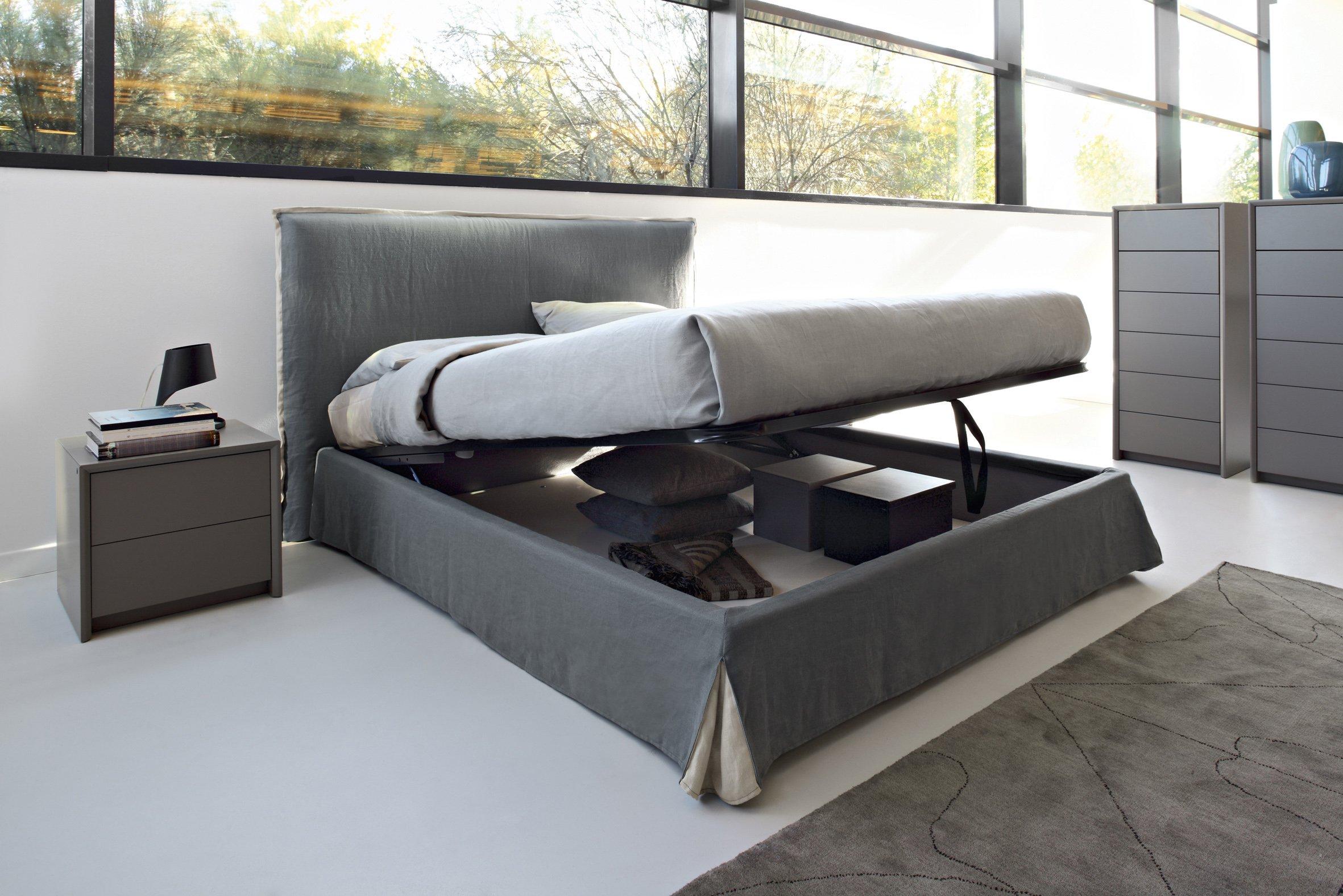 Letti con contenitore salvaspazio che liberano l 39 armadio cose di casa - Rete per letto contenitore ...