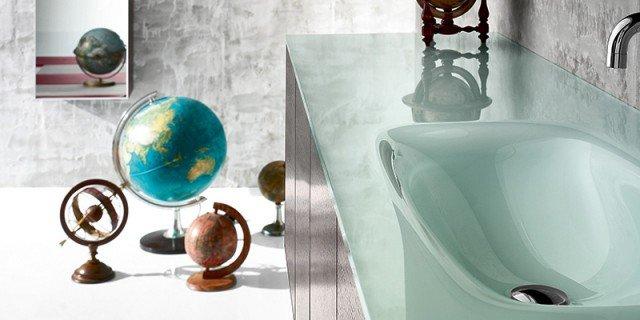 Lavabi colorati per un bagno di design