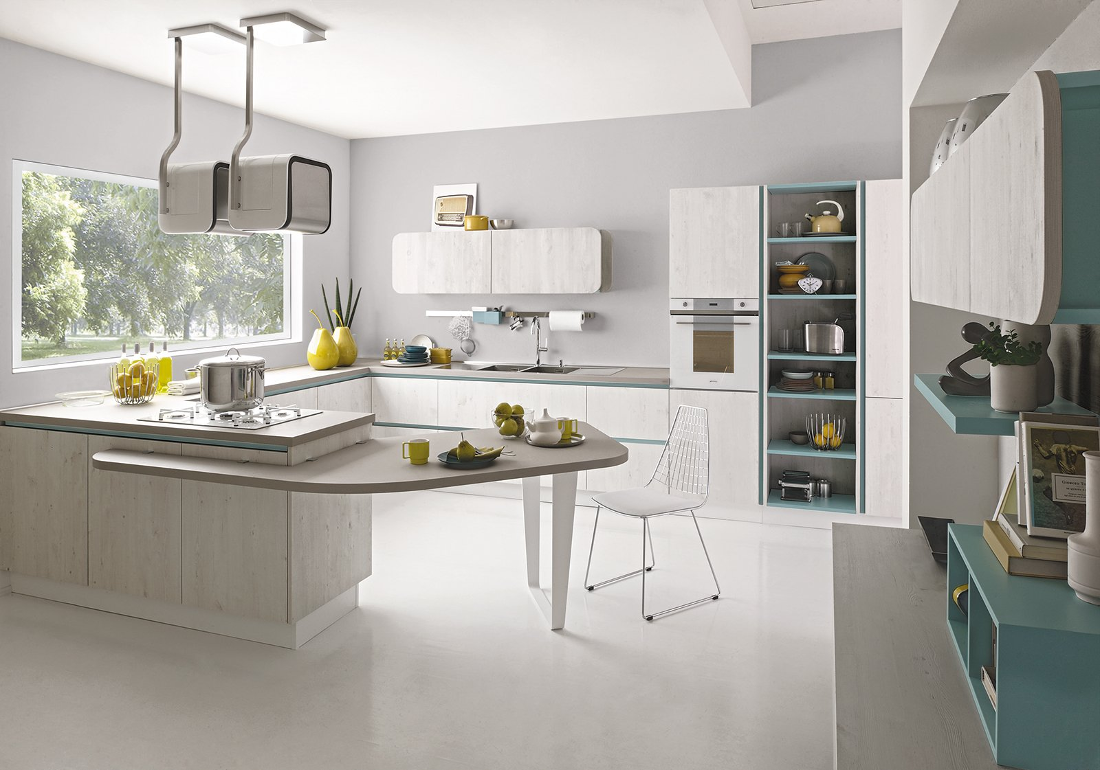 Arredare la cucina tavolo compreso cose di casa for Mobile tavolo