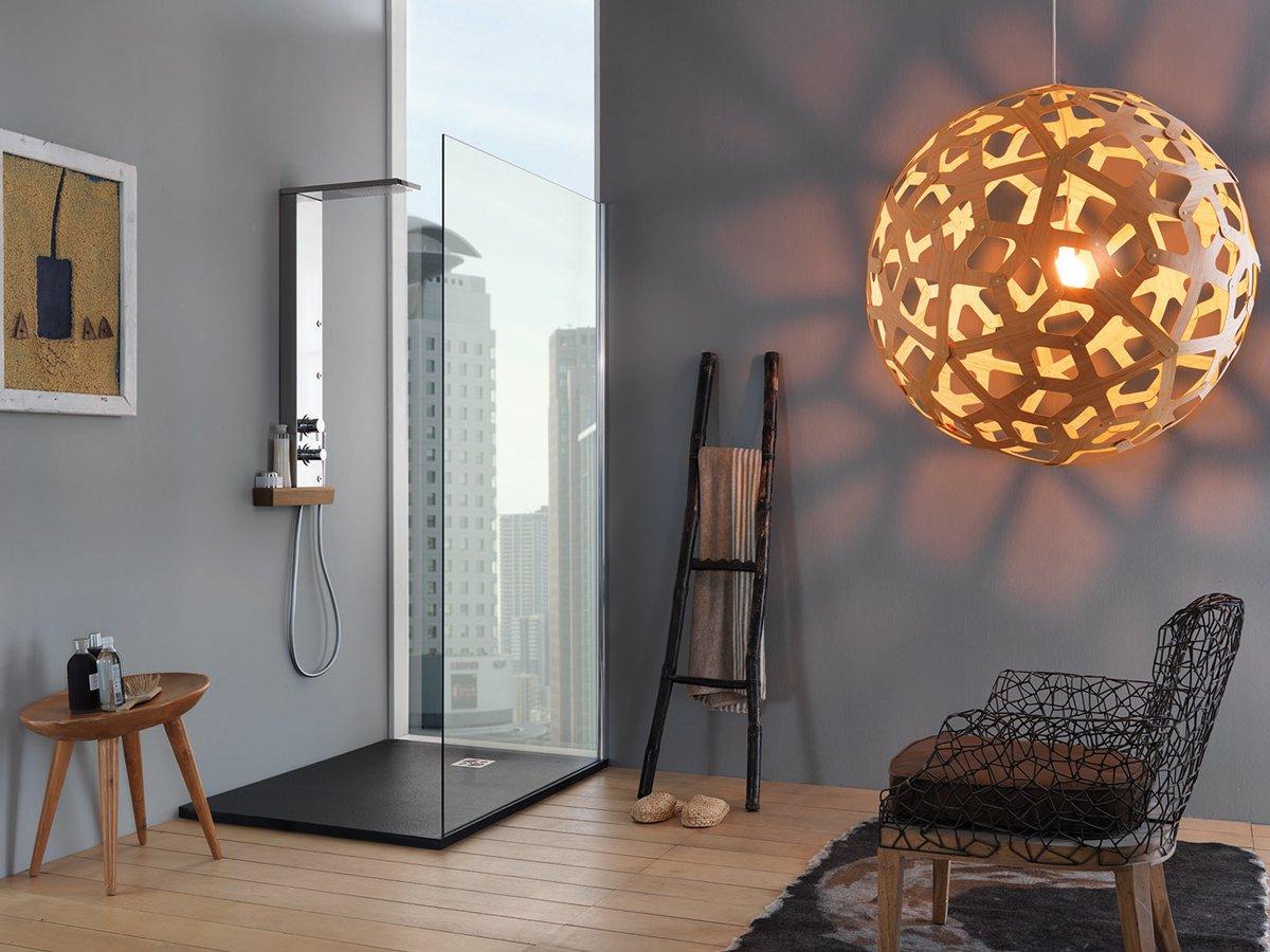 Box doccia con idromassaggio e bagno turco cose di casa - Accessori doccia portaoggetti ...