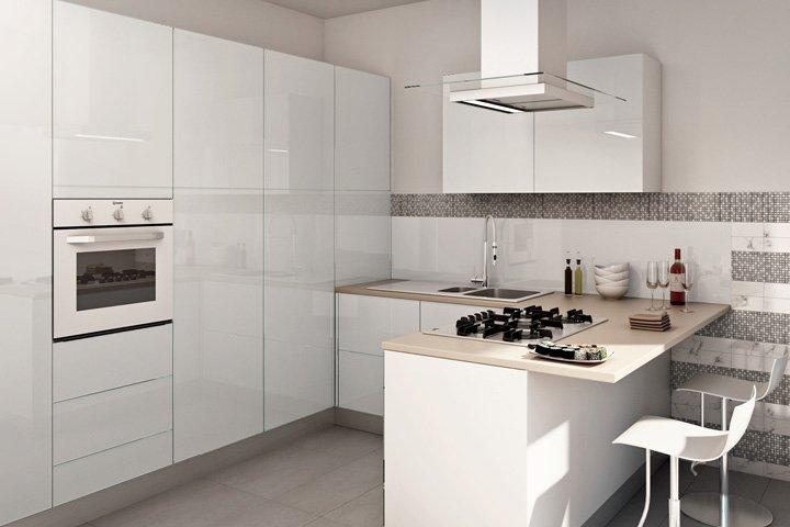 Cucine moderne cucine moderne lineari 4 metri - Cucine low cost ...