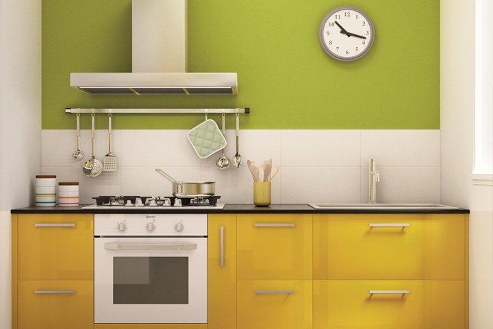 Cucina composizioni chiavi in mano salvaspazio e low - Cucina lineare 3 metri senza frigo ...