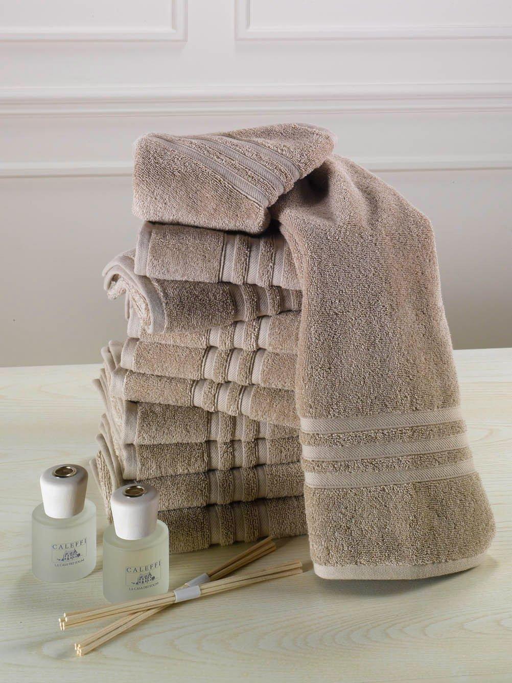 Asciugamani per il bagno come scegliere materiali e colori cose di casa - Asciugamani bagno firmati ...