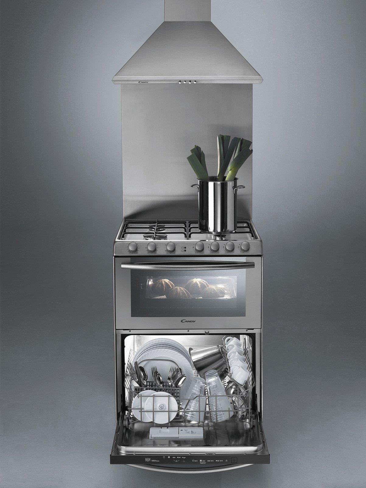 Elettrodomestici salvaspazio prestazioni standard - Mobile per lavastoviglie da incasso ...