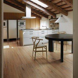 Scegliere il pavimento della cucina effetto legno - Aerazione naturale della casa ...