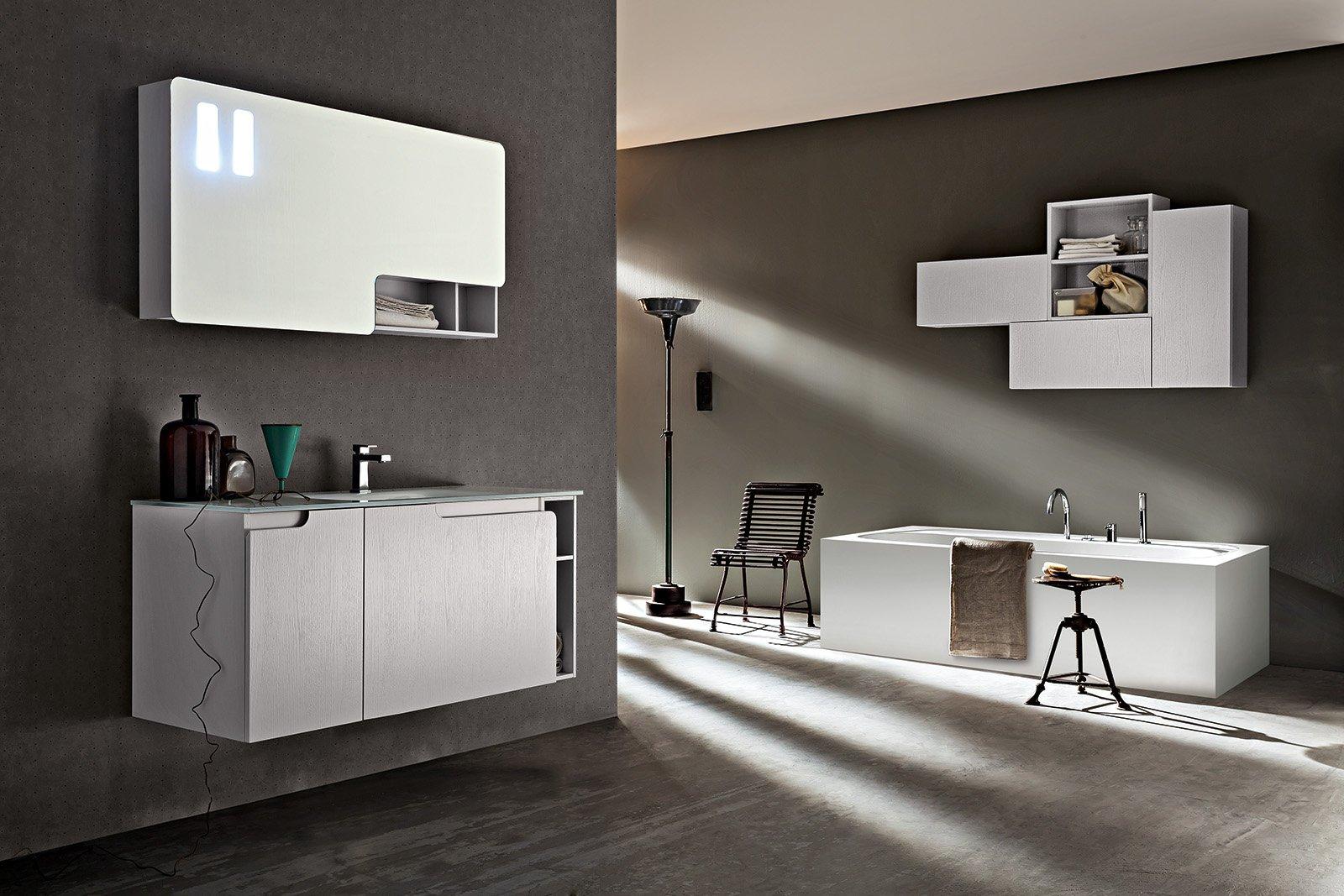 Specchi per il bagno cose di casa - Applique per il bagno ...