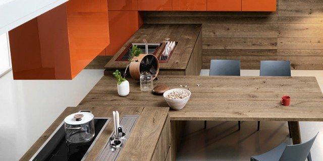 Scegliere la cucina con un tocco di rosso - Cose di Casa