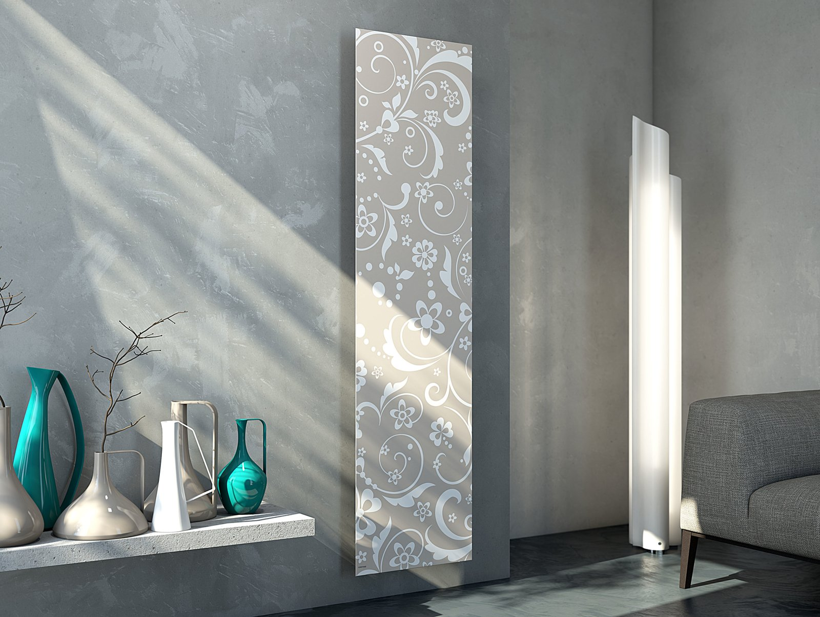 I nuovi radiatori al cersaie 2014 per un calore senza for Immagini design