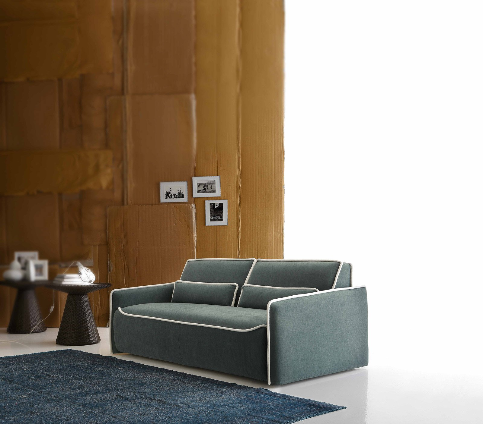 Divano letto il trasformabile salvaspazio cose di casa - Schienale divano letto ...