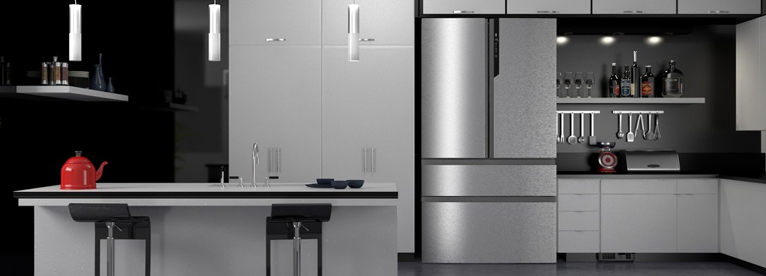 Frigoriferi americani garanzia a vita cose di casa - Cucina con frigo americano ...