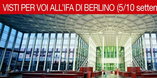 Ifa Berlino 2014: il microonde completamente automatizzato