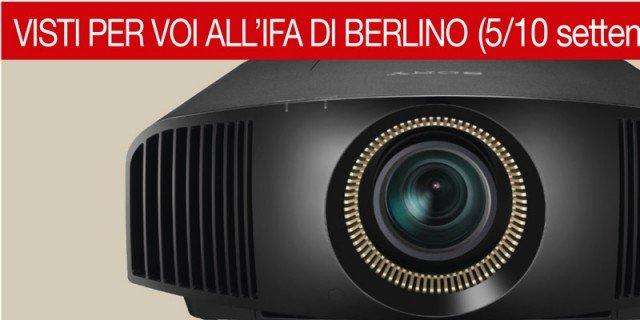 Videoproiettori 4K in mostra a Ifa Berlino 2014: il primo modello
