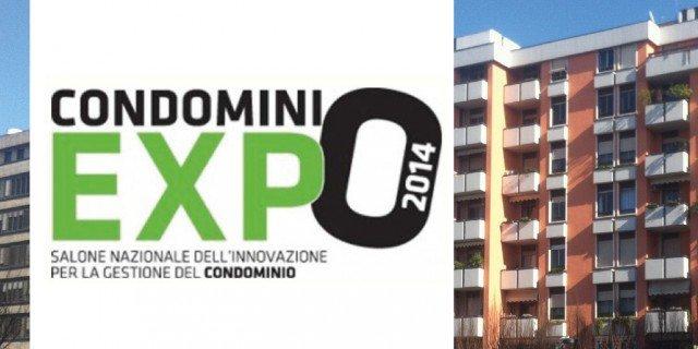 Condominio Expo, al via il primo salone nazionale