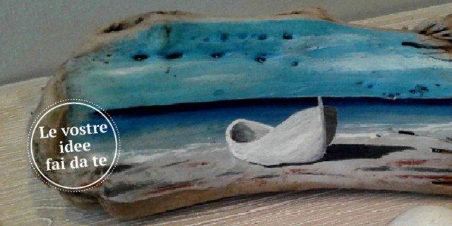 Con legno di recupero quadretti fai da te per ricordare for Arte del riciclo fai da te