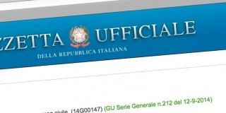 Decreto Sblocca Italia: il testo pubblicato in Gazzetta Ufficiale