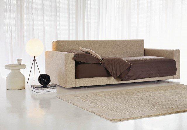 Divano letto scegliere la comodit oltre all 39 estetica - Testate letto con cuscini ...