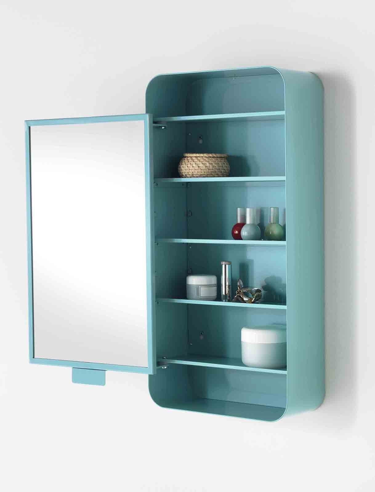 Specchi per il bagno cose di casa - Specchio contenitore ikea ...