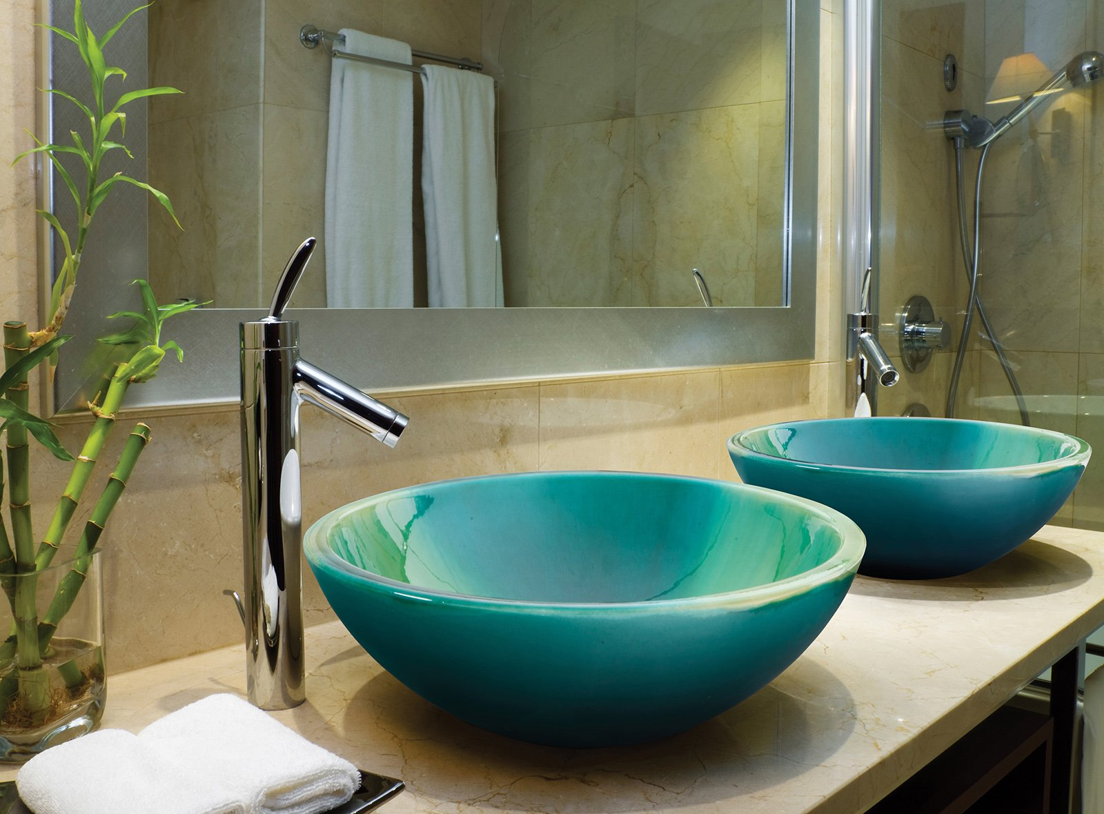 Lavandino Bagno In Vetro Colorato.Lavabi Colorati Per Un Bagno Di Design Cose Di Casa