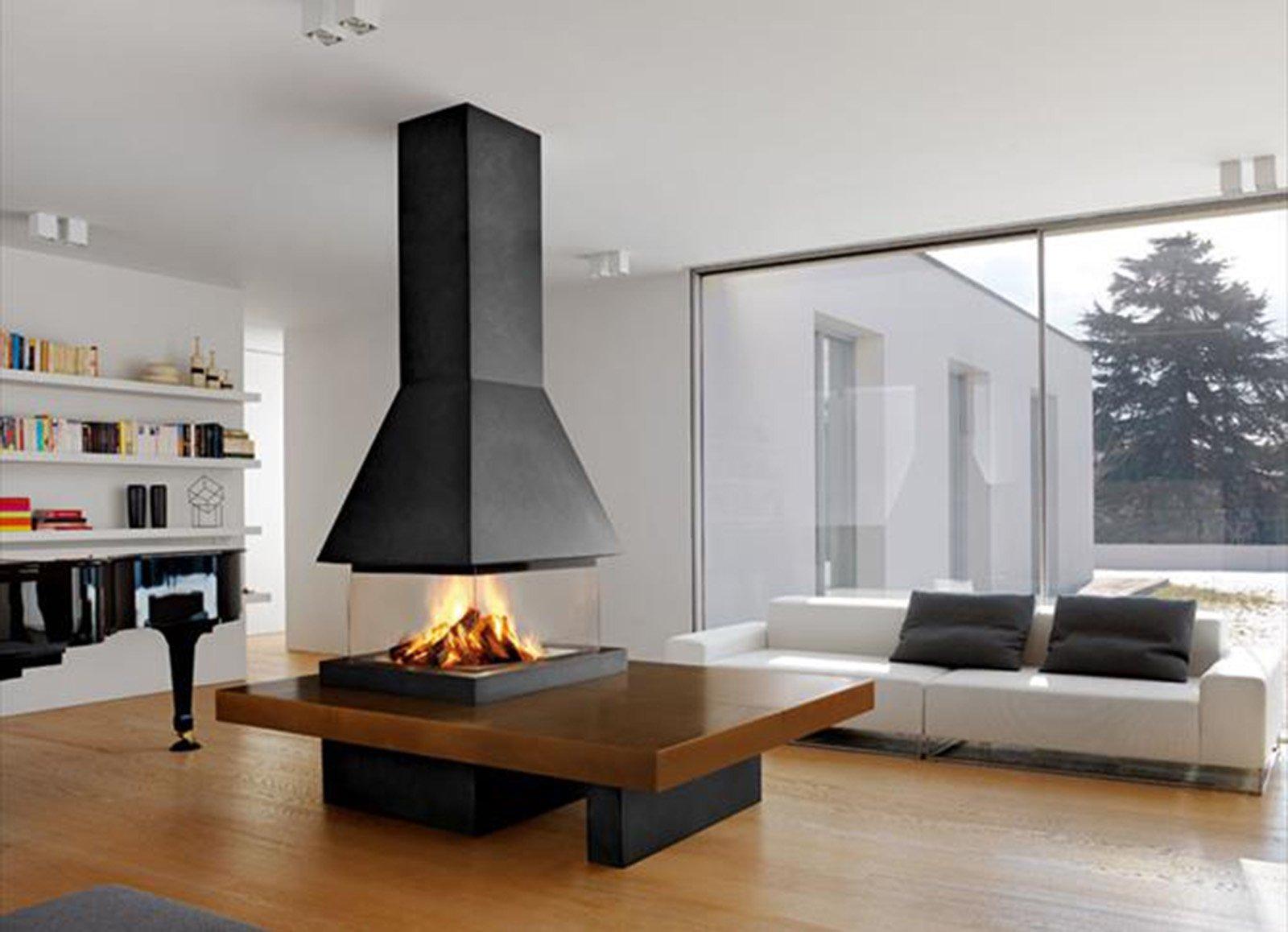 Per scegliere il camino calcolare il fabbisogno termico for Idee di casa di piano aperto