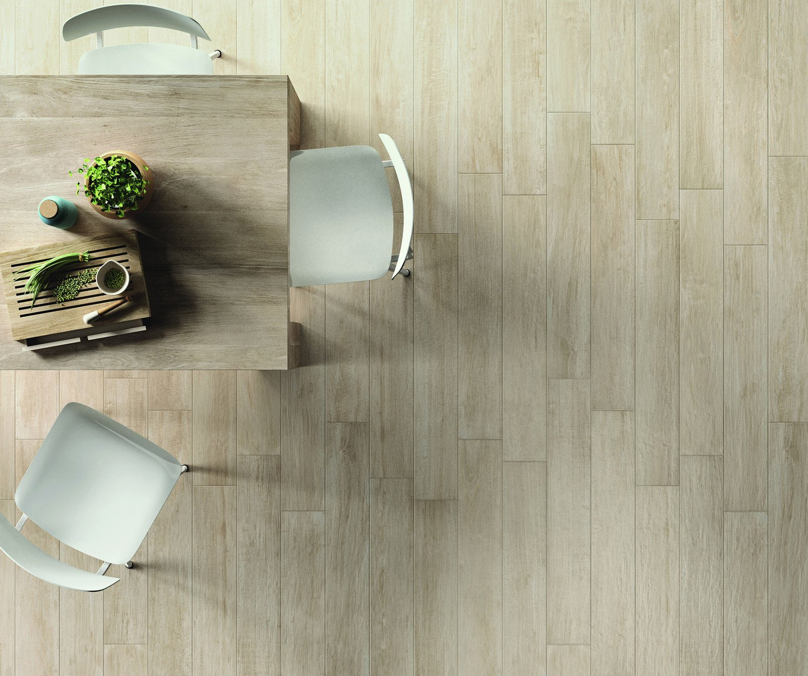 Scegliere il pavimento della cucina effetto legno for Piastrelle 3 formati