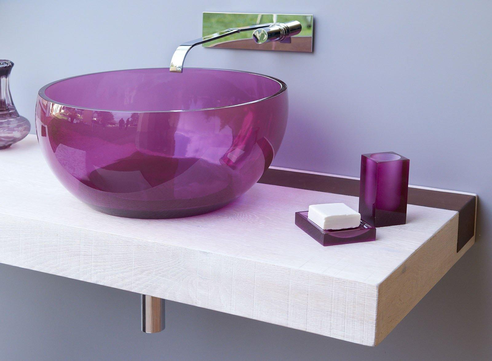 Lavabi colorati per un bagno di design cose di casa - Bagno di colore fai da te ...